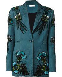 Matthew Williamson Beaded Tailored Blazer Jacket - Lyst