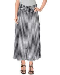 Twenty-29 - 3/4 Length Skirt - Lyst