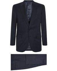 Gieves & Hawkes Tonal Stripe Suit - Lyst
