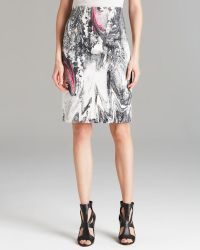 Rachel Roy - Printed Pencil Skirt - Lyst