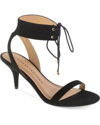 Chinese Laundry Ravish Two-Piece Ankle Strap Sandals black - Lyst