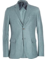 Gucci Unstructured Lightweight Wool and Cashmereblend Blazer - Lyst