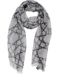 Dior Gray Stole - Lyst