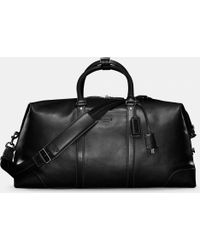 COACH - Transatlantic Travel Carryon In Leather - Lyst