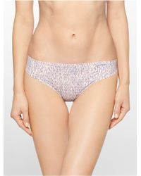 Calvin Klein Invisibles Thong - Lyst