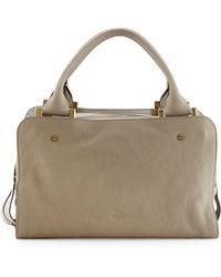 Chloé Dalston Triplezip Leather Satchel Bag - Lyst