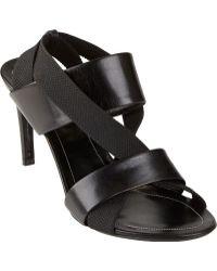 Balenciaga Elastic Crisscross-strap Sandals - Lyst