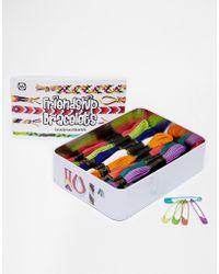 Asos Make Your Own Friendship Bracelet Pack - Lyst
