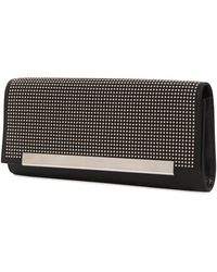 Saint Laurent - Lutetia Micro Studs Leather Clutch - Lyst