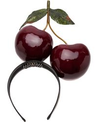 Piers Atkinson - Classic Cherries Headband - Lyst