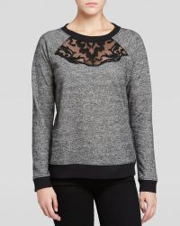 NYDJ | Embroidered Sweatshirt | Lyst