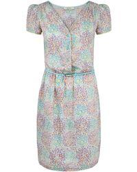 Sessun - Blue Padda Liberty Print Dress - Lyst
