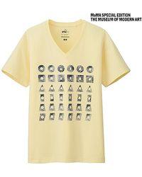Uniqlo Sprz Ny Graphic T-Shirt (Sol Lewitt) - Lyst