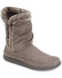 Tempur-Pedic - Braylynn Faux-Fur-Lined Boots - Lyst
