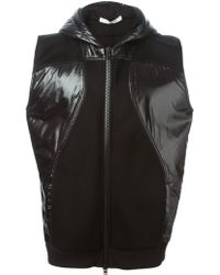 Givenchy Two-Tone Oversized Gilet - Lyst