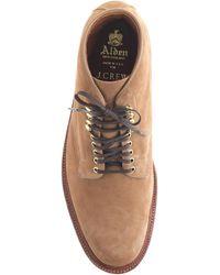 Alden Boots In Camel Suede beige - Lyst