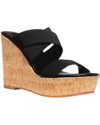 Steven By Steve Madden Freezee Wedge Sandals - Lyst