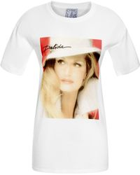 Stella Jean Mo Exclusive Dalida Graphic Cotton Tee - Lyst