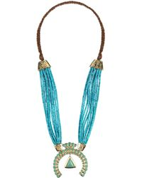 Aurelie Bidermann Necklace - Lyst