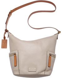 Fossil - Emerson Small Leather Hobo Bag - Lyst