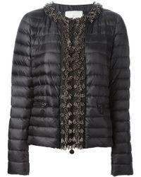 Moncler Beaded Padded Jacket - Lyst