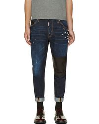 DSquared2 Blue Barbed Wire Classic Kenny Twist Jeans - Lyst