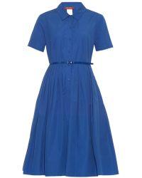 Max Mara Studio Calmi Shirtdress blue - Lyst