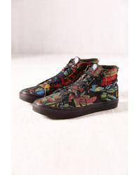 Vans Floral Tapestry Sk8hi Slim Sneaker - Lyst