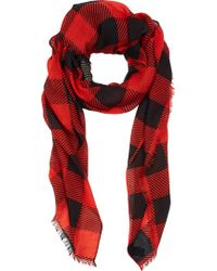 Rag & Bone Buffalo Check Scarf - Lyst