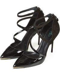 Topshop Up All Night Pointed Court Shoes By Cjg - Lyst