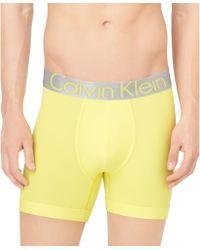 Calvin Klein Mens Steel Microfiber Boxer Briefs - Lyst
