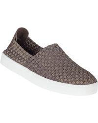 Steve Madden Exx Slip-On Sneaker Bronze Fabric - Lyst