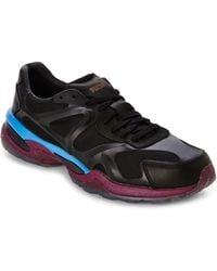 Alexander McQueen x Puma Run Lo Sneakers black - Lyst