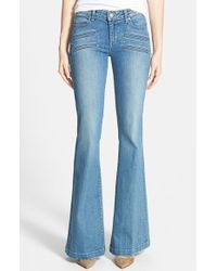 Paige 'Fionna' Flare Jeans - Lyst