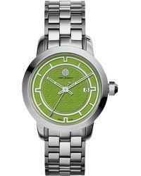 Tory Burch 37Mm Tory Stainless Steel Bracelet Watch - Lyst