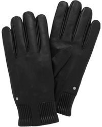 Mulberry Mens Ribbed Cuff Glove - Lyst