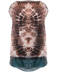 The Textile Rebels Tie Dye Blouse - Lyst