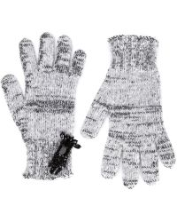 Rochas - Embellished Knitted Gloves - Lyst