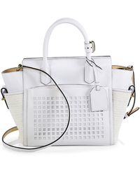 Reed Krakoff Mini Atlantique Bionic Mixed Media Tote - Lyst