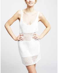 Wool And The Gang Us Jolene Dress white - Lyst