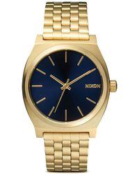 Nixon 'The Time Teller' Watch - Lyst