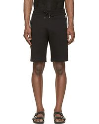 Diesel Black P_Corn Jersey Shorts - Lyst