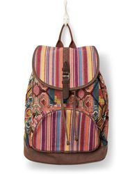 TOMS - Multi Pattern Mix Departure Backpack - Lyst