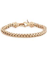 Vitaly - Kusari Gold Tone Bracelet - Lyst