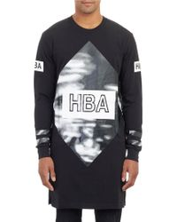 Hood By Air Cloud Elongated T-shirt - Lyst