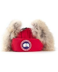 Canada Goose - Trimmed Aviator Hat - Lyst