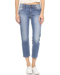 Joe's Jeans Slim Straight Crop Jeans Lottie Vintage Reserve - Lyst