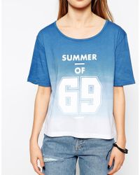 A Question Of - Summer Of 69 Boxy T-shirt - Lyst
