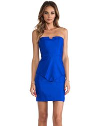 Suboo Origami Strapless Dress - Lyst