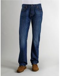 Levi's 514 Slim Straight-Leg Denim Pants - Lyst